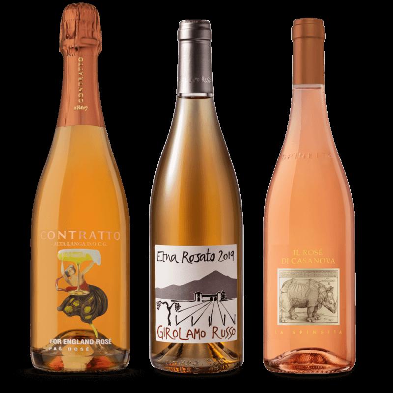 degustační balíček - růžová vína